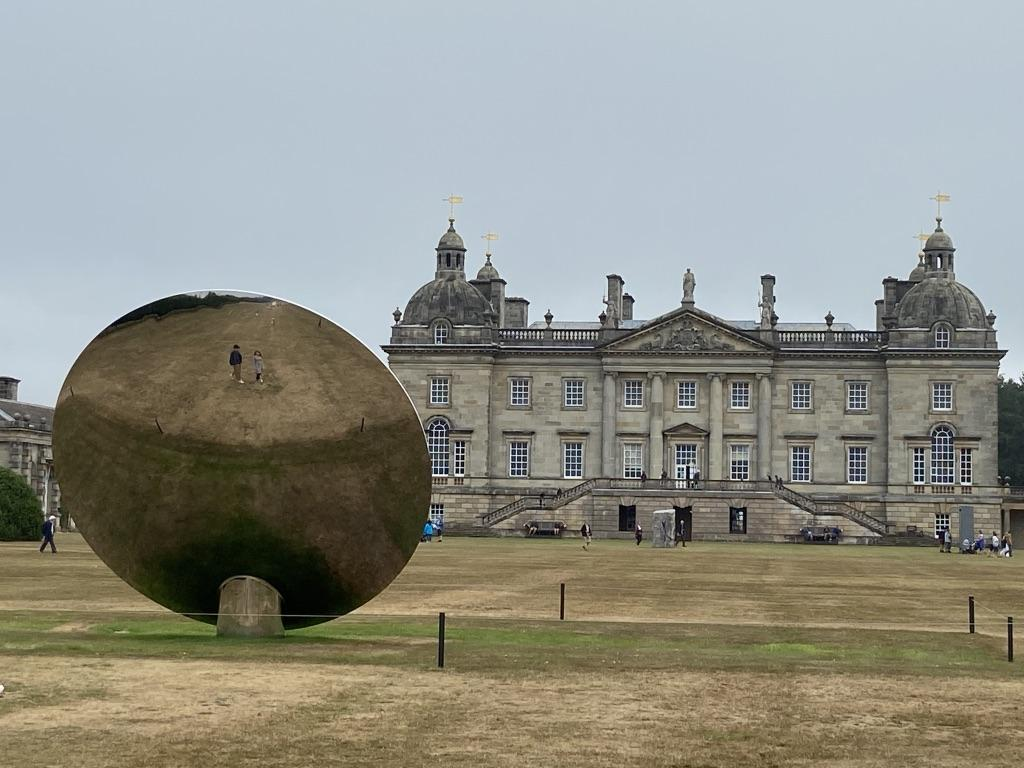 Anglo-Indian artist Anish Kapoor at Houghton Hall