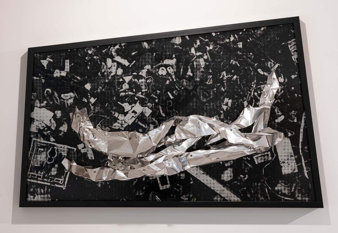 NEW DELHI. L'artiste indien Asim Waqif. Galerie Nature Morte