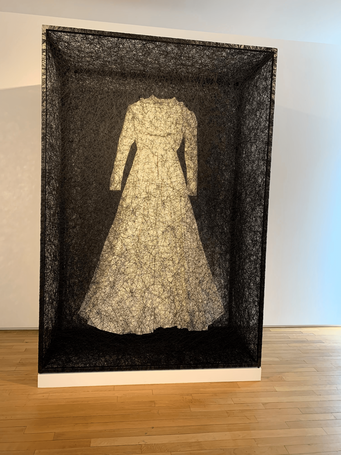 Japanese artist Chiharu Shiota at Templon Gallery Paris