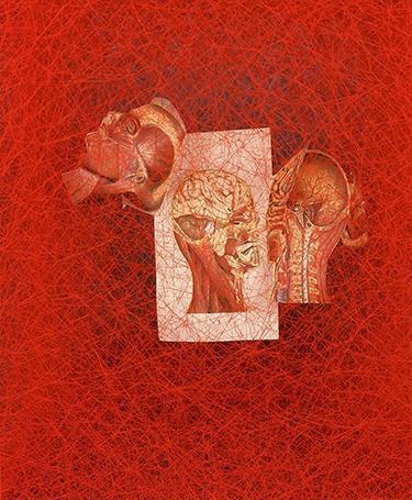 L'artiste japonaise Chiharu Shiota, galerie Templon Paris