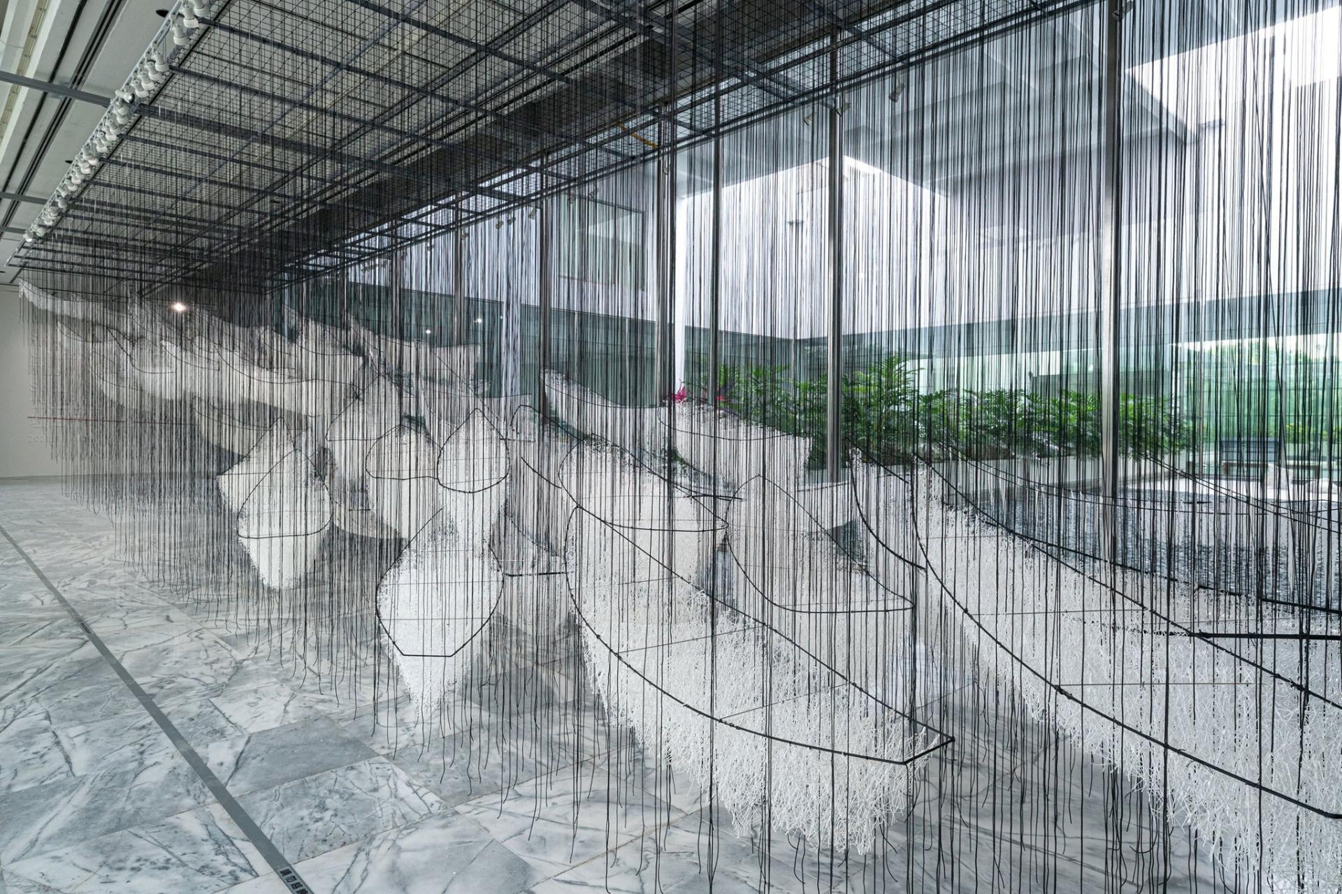 TAIPEI. L'artiste japonaise Chiharu Shiota, TFAM