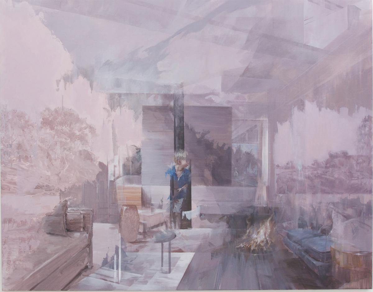 Chinese artist Fu Site at Paris-Beijing gallery