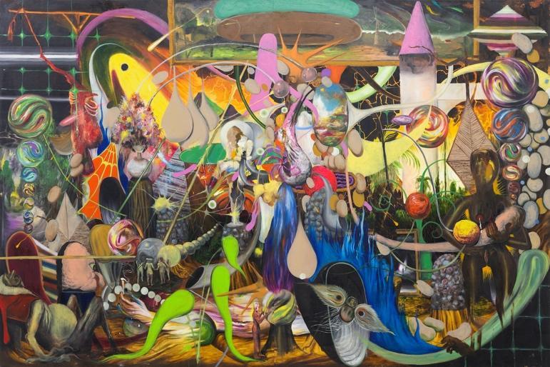 Philippines artist Gene Paul Martin at Silverlens Galleries