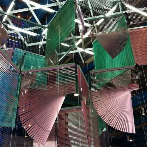 SHANGHAI. L'artiste coréenne Haegue Yang. Centre Pompidou