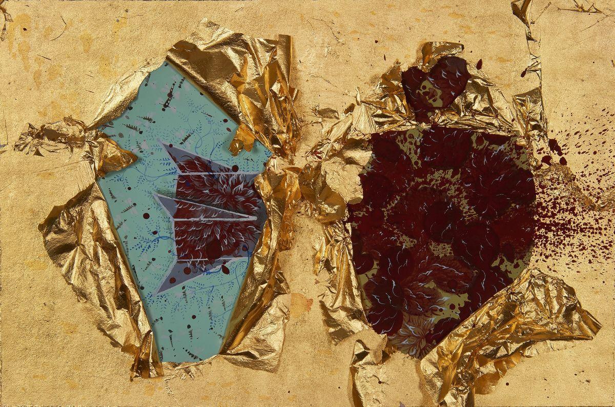 L'artiste indo-pakistanais Imram Qureshi, Galerie Nature Morte