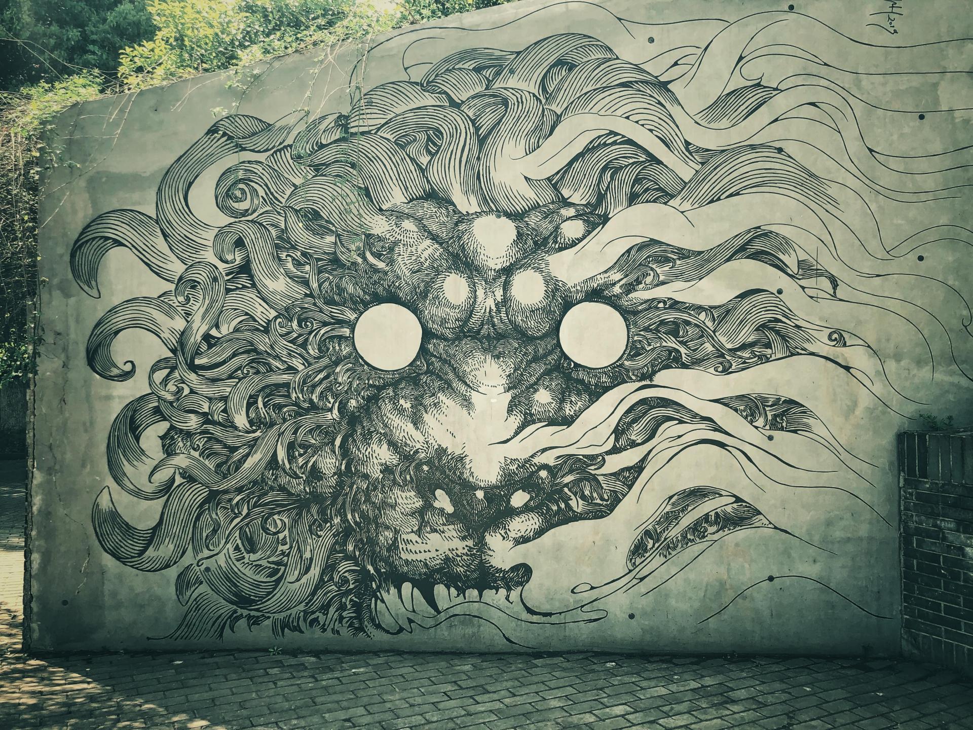 Kristopher Ho, artiste chinois, street art (Wuhan)