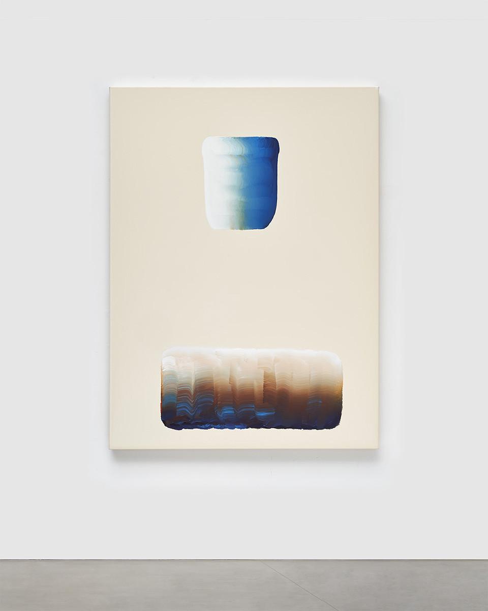 EAST HAMPTON. L'artiste coréen Lee Ufan. Pace Gallery