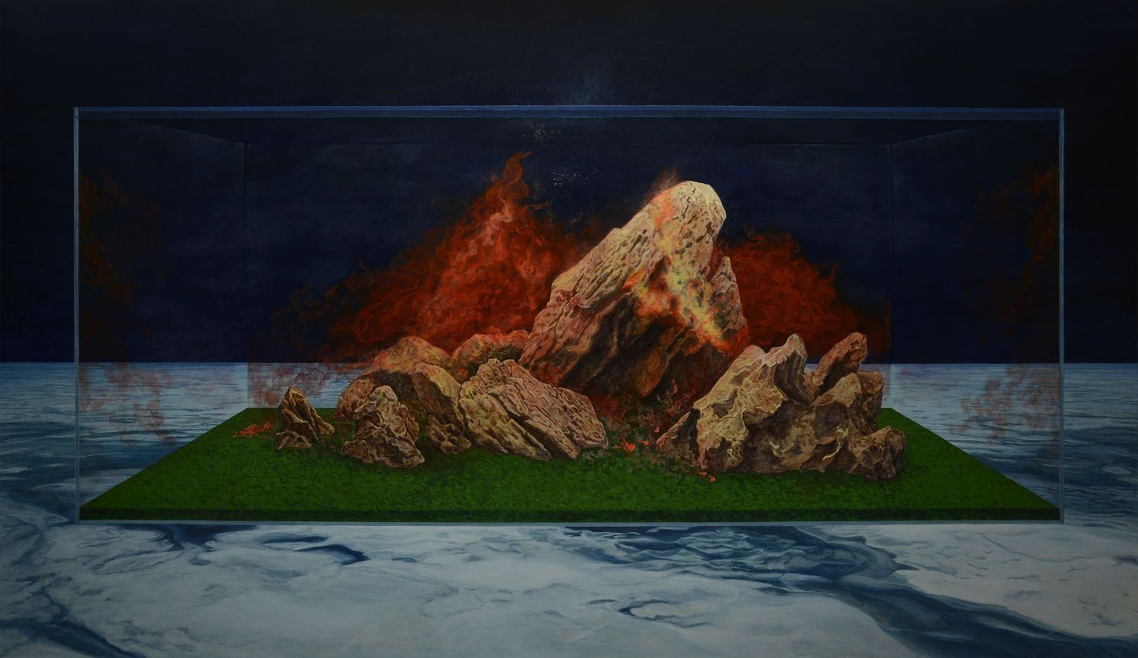 L'artiste chinois Li Donglu, A2Z Art Gallery