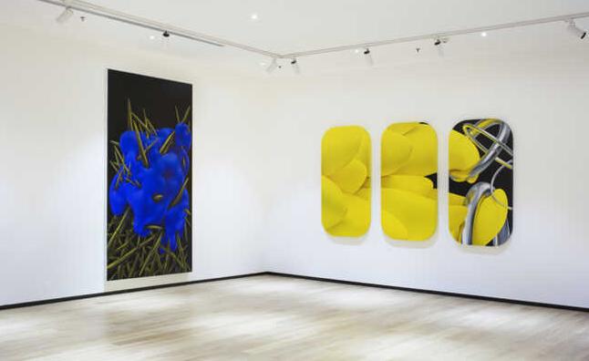 BANGKOK. L'artiste chinois Li Erpeng. Tang Contemporary Art