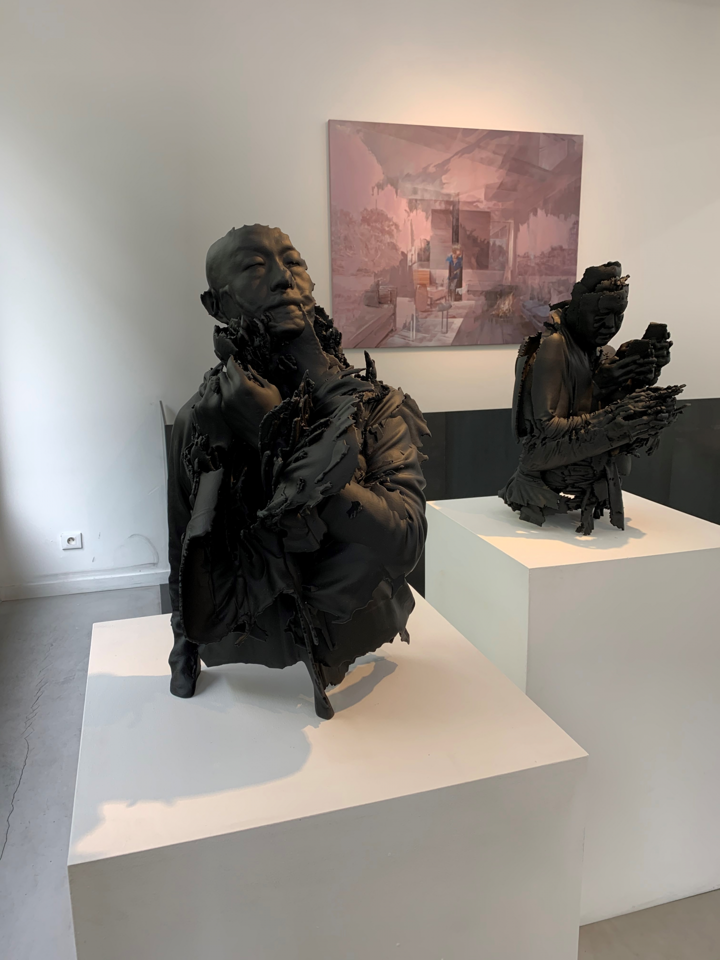 Chinese artist Liu at Paris-Beijing gallery