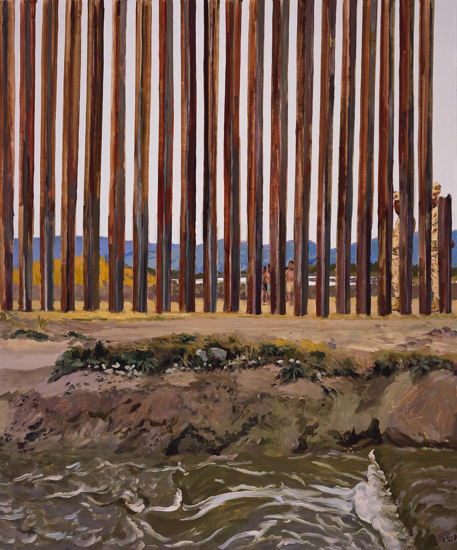 Chinese artist Liu Xiaodong at Dallas Contemporary Usa