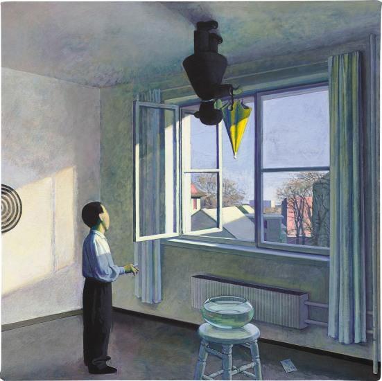 L'artiste chinois Liu Ye, Phillips HK Auction