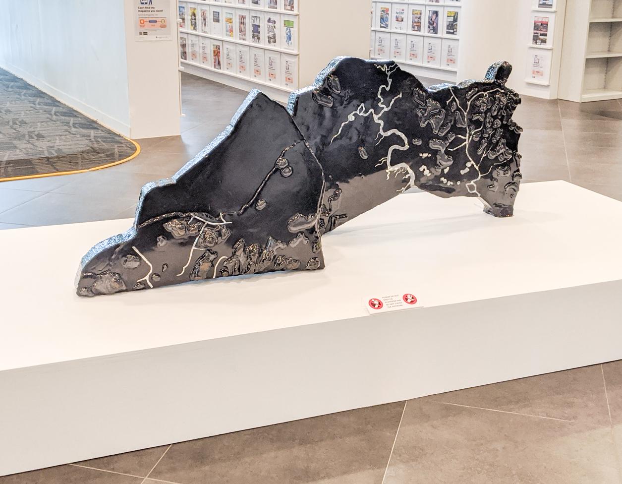 Singapore artist Melissa Tan at SAM Museum Singapore