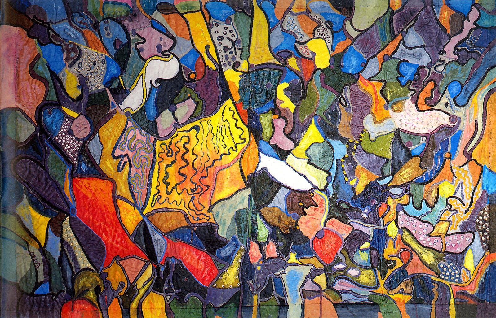 L'artiste philippine Pacita Abad, Gwangju Biennale 2021