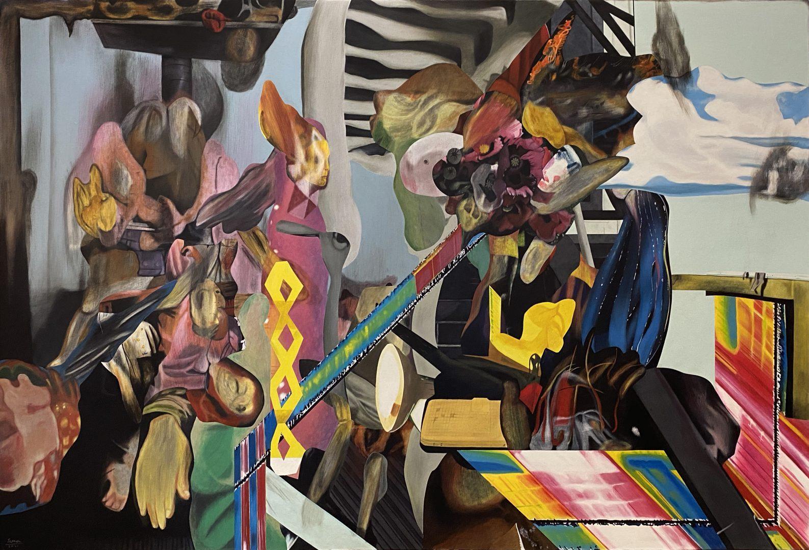 L'artiste philippin Rodel Tapaya, Tang Hong Kong