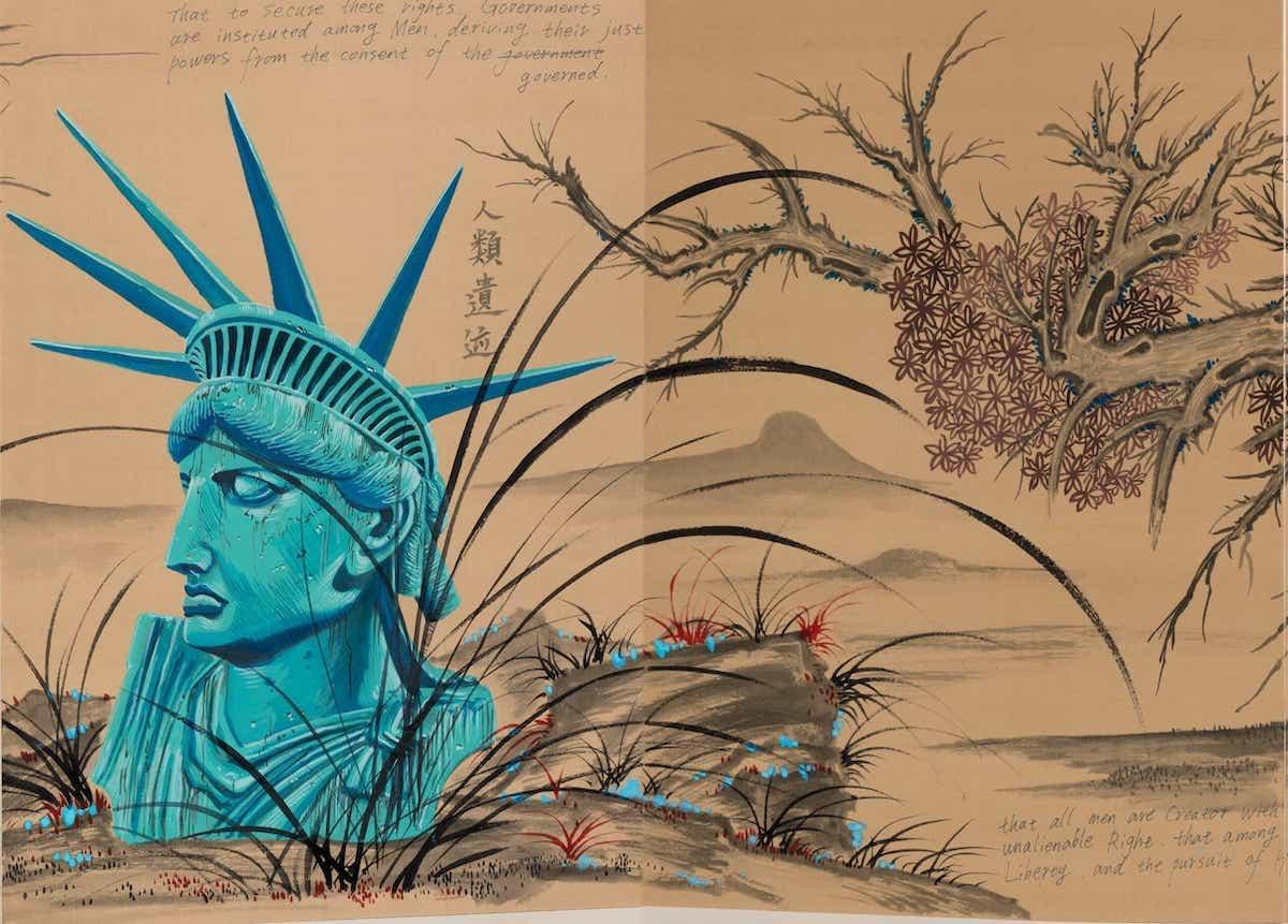 Chinese artist Sun Xun at Asia Society Triennal NY