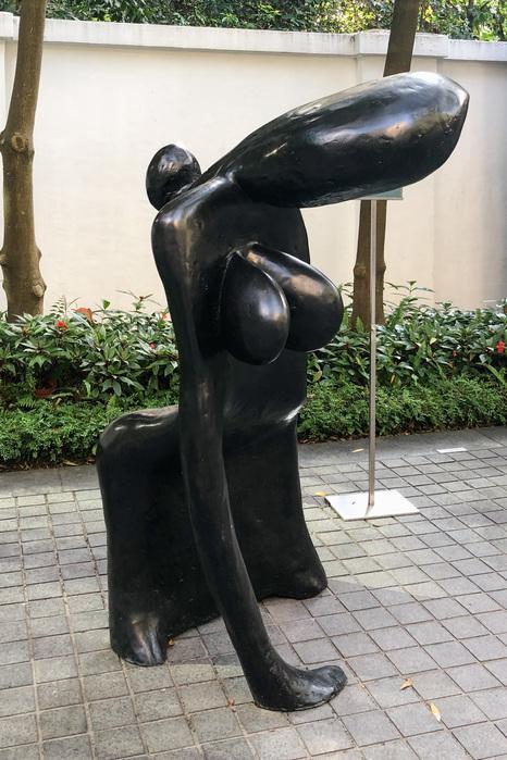 Wang Keping au 10 Chancery Lane Gallery, Hong Kong
