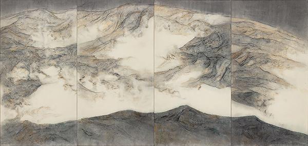 PEKIN. L'artiste chinois Wang Shaoqiang, Asia Art Center