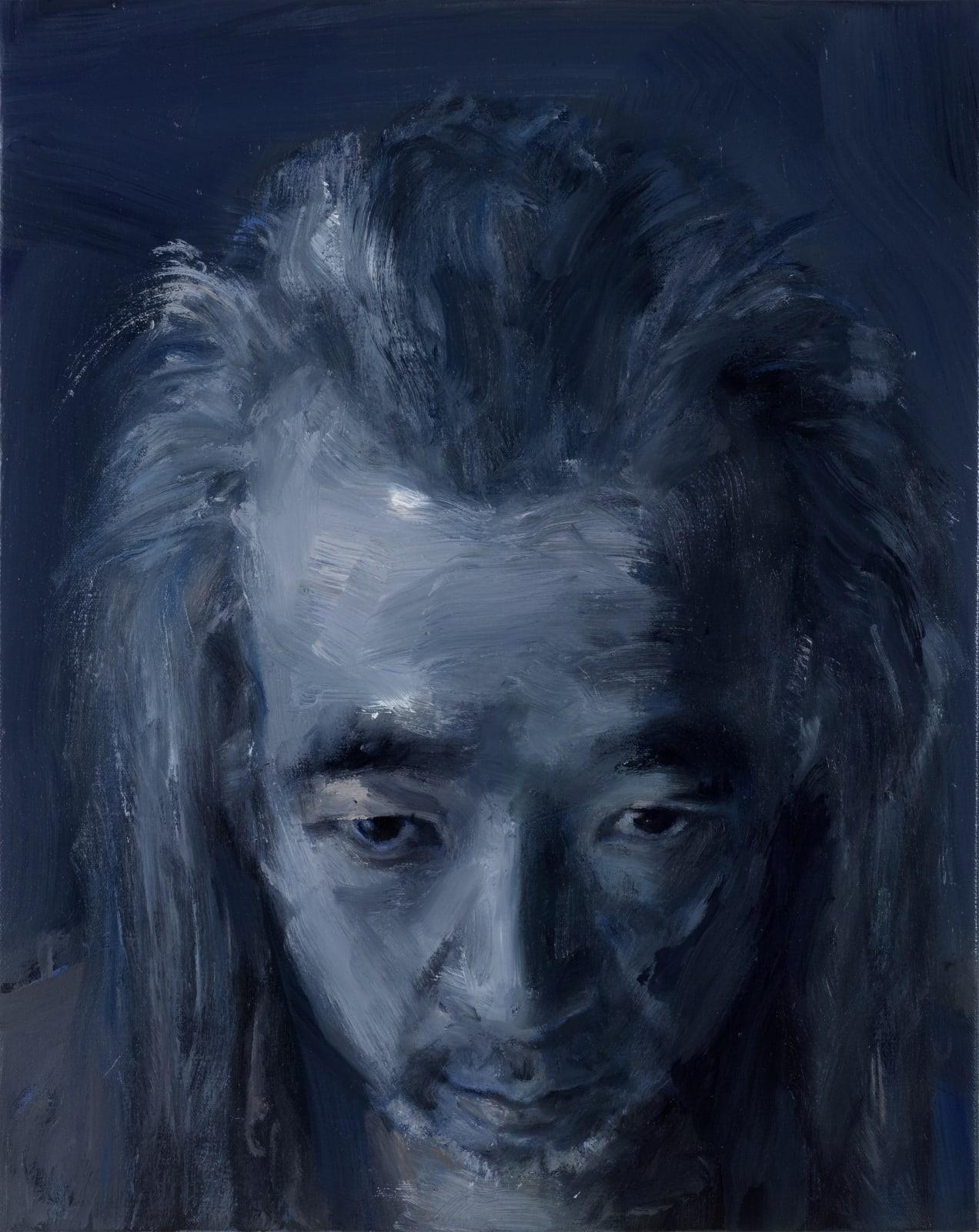L'artiste franco-chinois Yan Pei-Ming, Thaddaeus Ropac Paris