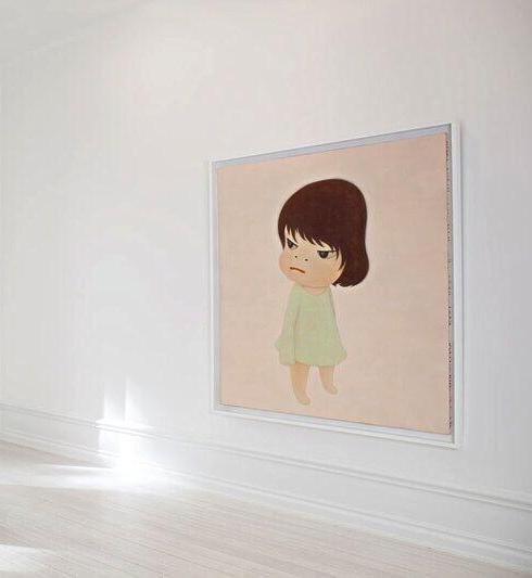 L'artiste japonais Yoshitomo Nara, Phillips HK Auction