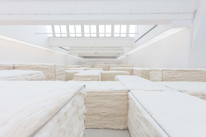 «White» du célèbre artiste chinois Zhao Zhao à Pékin